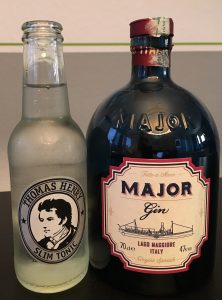 Slim Tonic und Major Gin