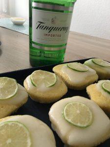 Gin Muffins mit Flasche