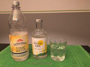Yellow Gin, Lichtenau Tonic,