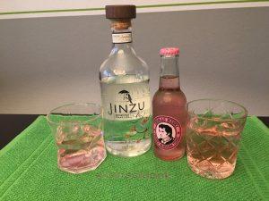 Jinzu Gin und Thomas Henry Tonic