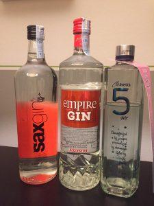 3 Gins aus Kroatien