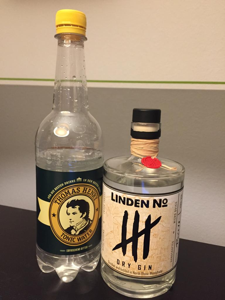 Linden No 4 Gin und Thomas Henry Tonic Water