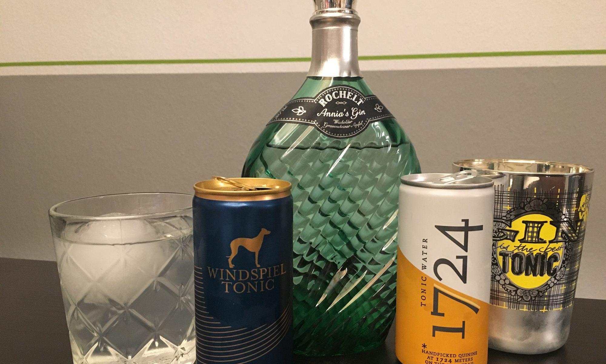 Obstsalat mit Gin