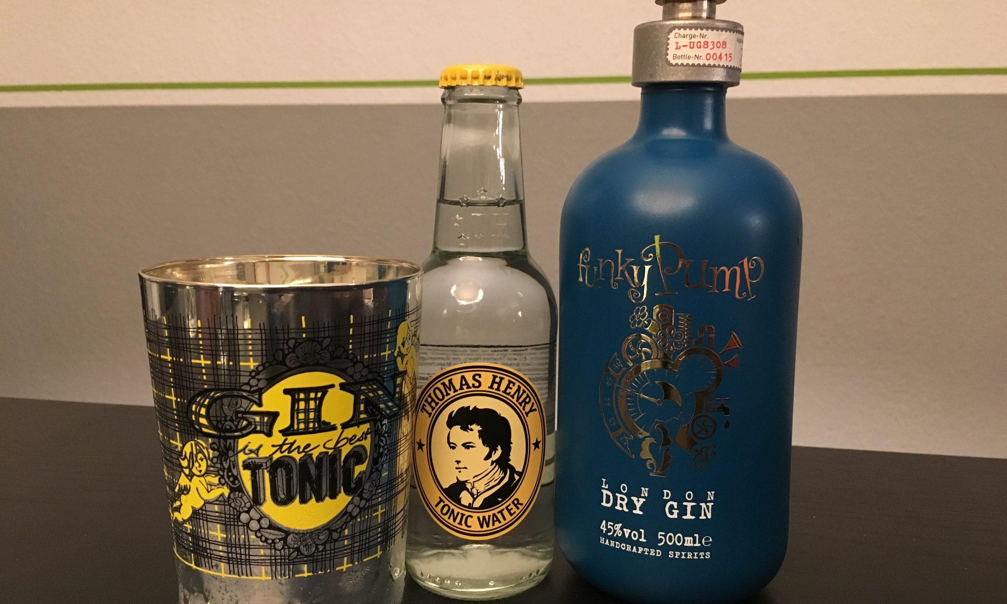 FUnky Pump Gin Tasting