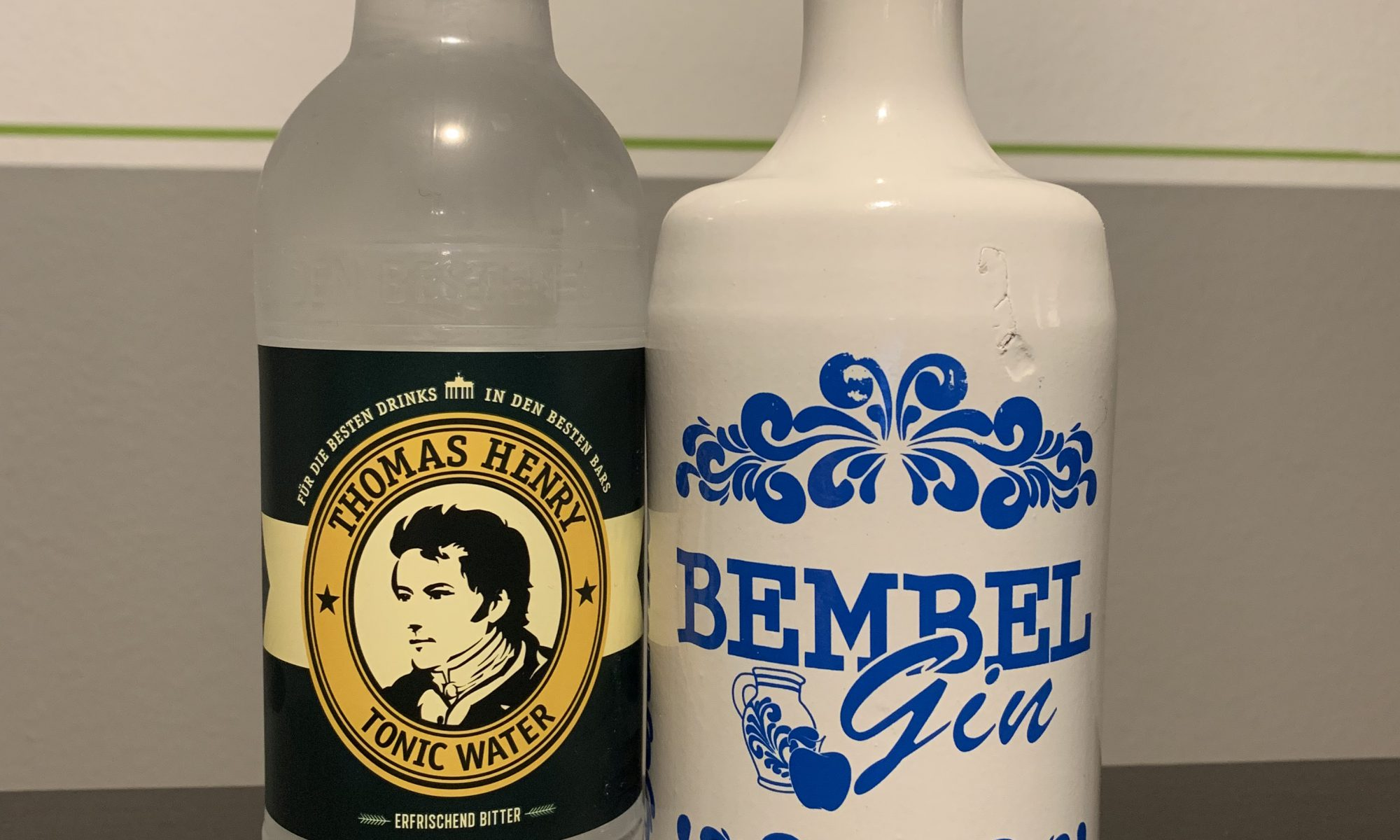 Bembel GIn und Thomas Henry Tonic Water