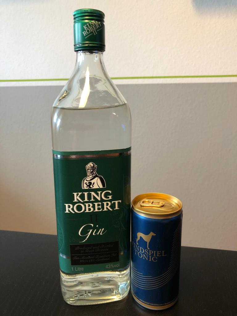 King Robert Gin